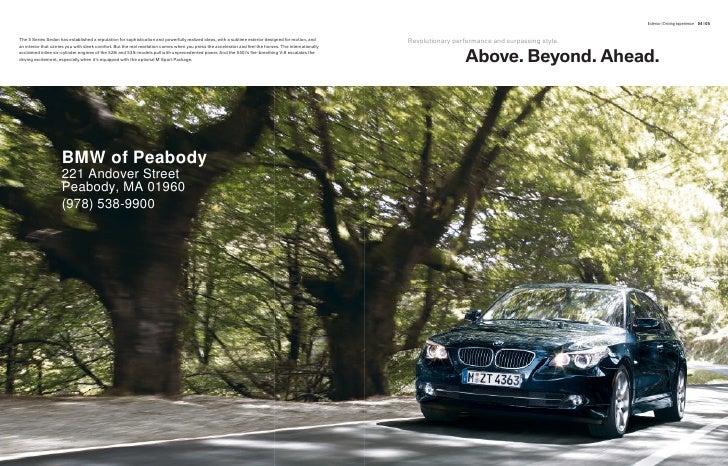 2010 BMW 535i Boston Slide 3