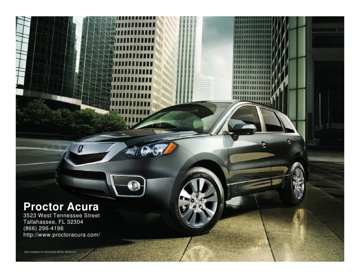 2010 Acura RDX Tallahee FL