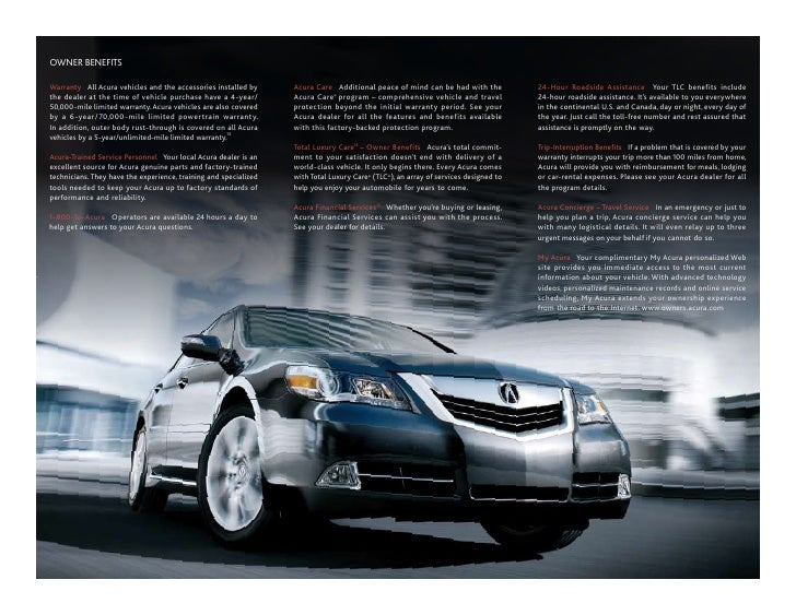 2010 Acura RL Tallahassee FL