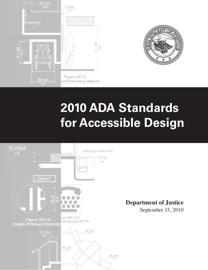 2010 ADA Standardsfor Accessible Design           Department of Justice                September 15, 2010