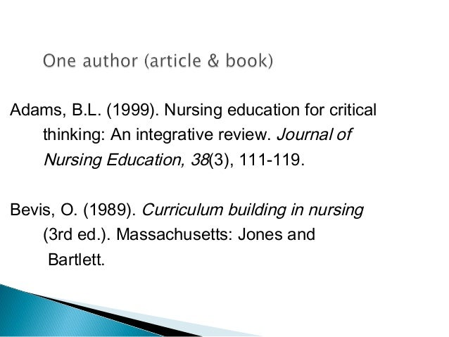critical thinking in nursing education a literature review Critical thinking in nursing process and education definition in nursing is to review the literature in the nursing literature of critical thinking as.