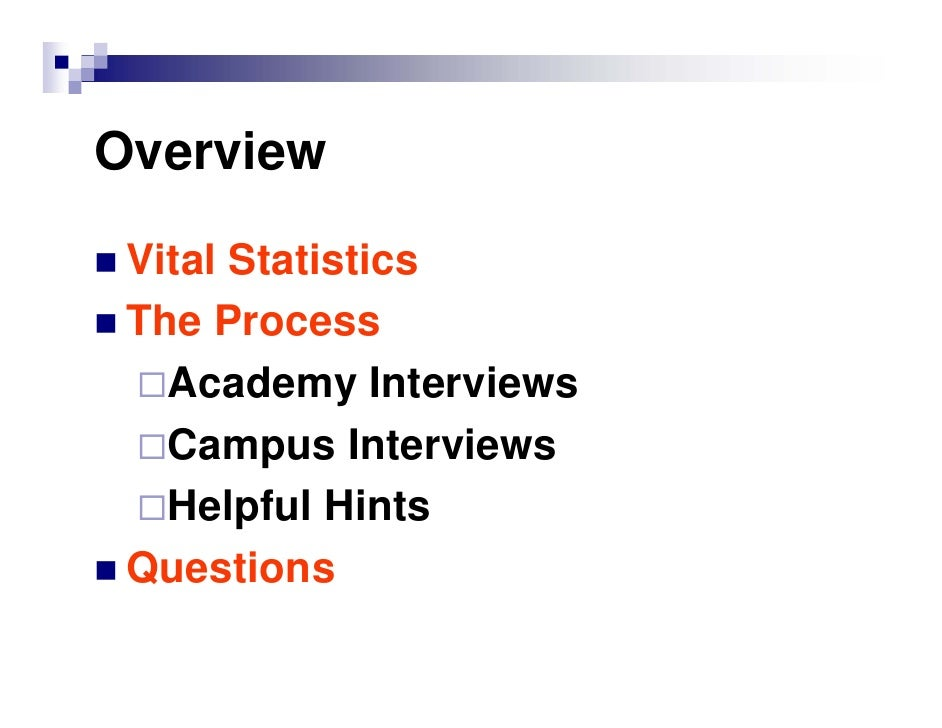 2010 Applicant Presentation Slide 2