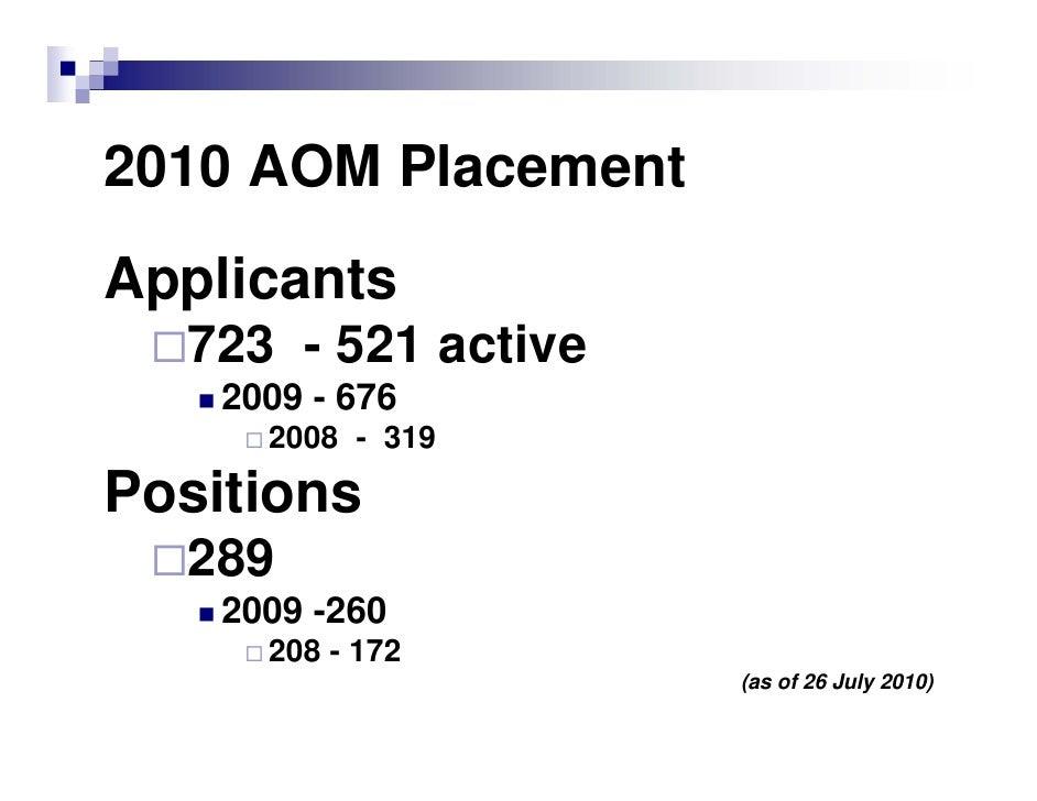 2010 Applicant Presentation Slide 3