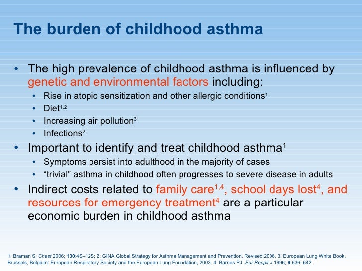 asthma prevention in pediatrics Prevention the icsi diagnosis and management of asthma five studies showed no or unclear benefit in the diagnosis and management of pediatric asthma.