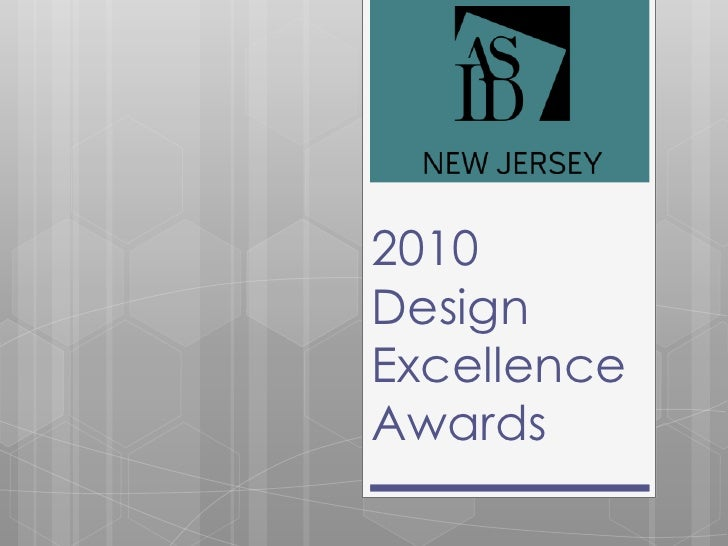 2010Design Excellence Awards<br />