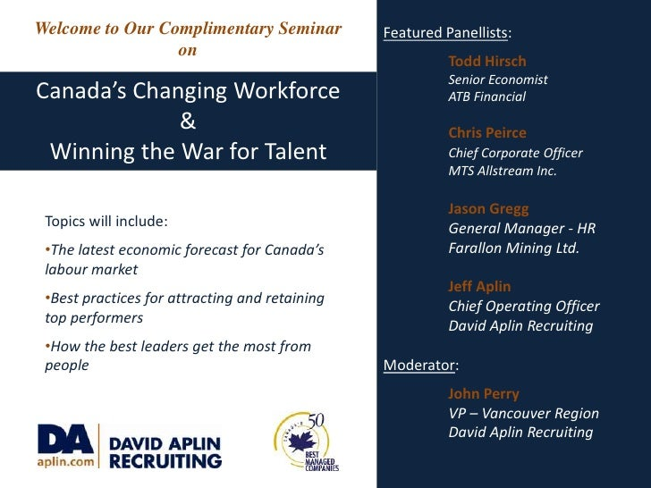 Featured Panellists:<br />Todd Hirsch<br />Senior Economist<br />ATB Financial<br />Chris Peirce<br />Chief Corporate O...
