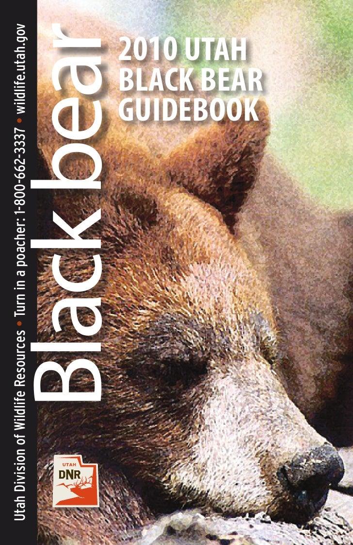 Utah Division of Wildlife Resources • Turn in a poacher: 1-800-662-3337 • wildlife.utah.gov                              B...