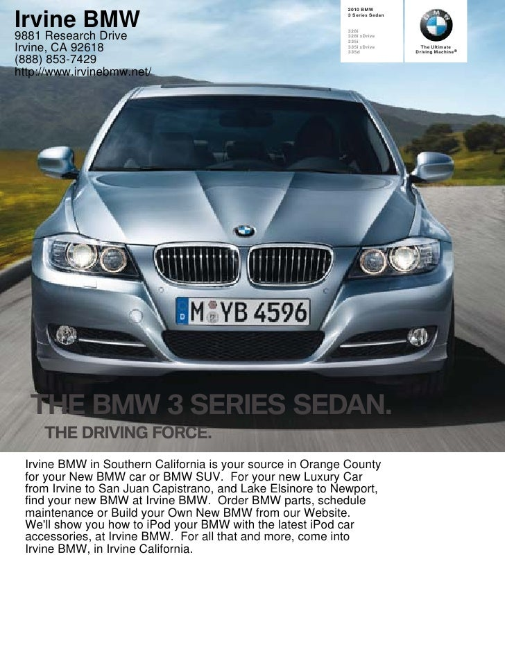 BMW   Irvine BMW                                                  Series Sedan                                            ...