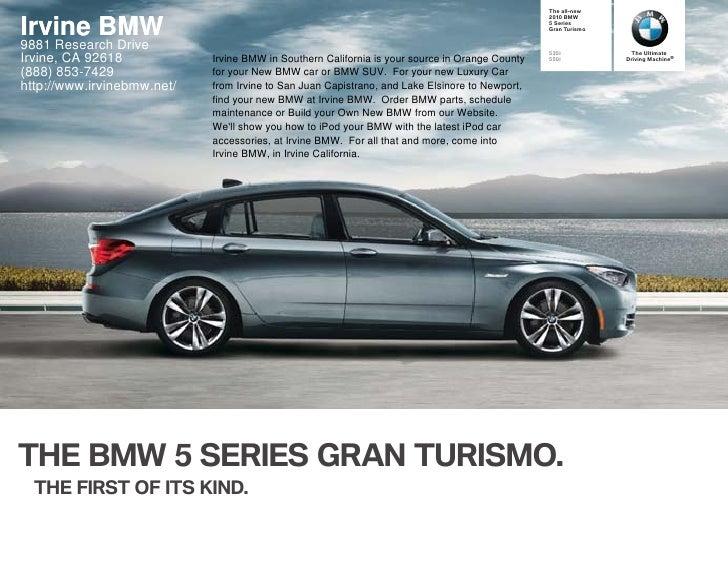 2010 BMW 5 Series Gran Turismo Los Angeles