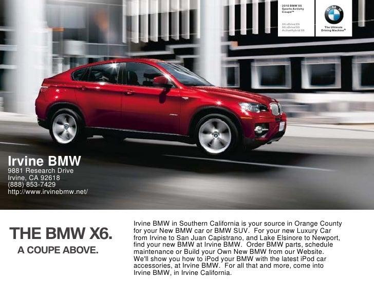 2010 BMW X6                                                                           Sports Activity                     ...