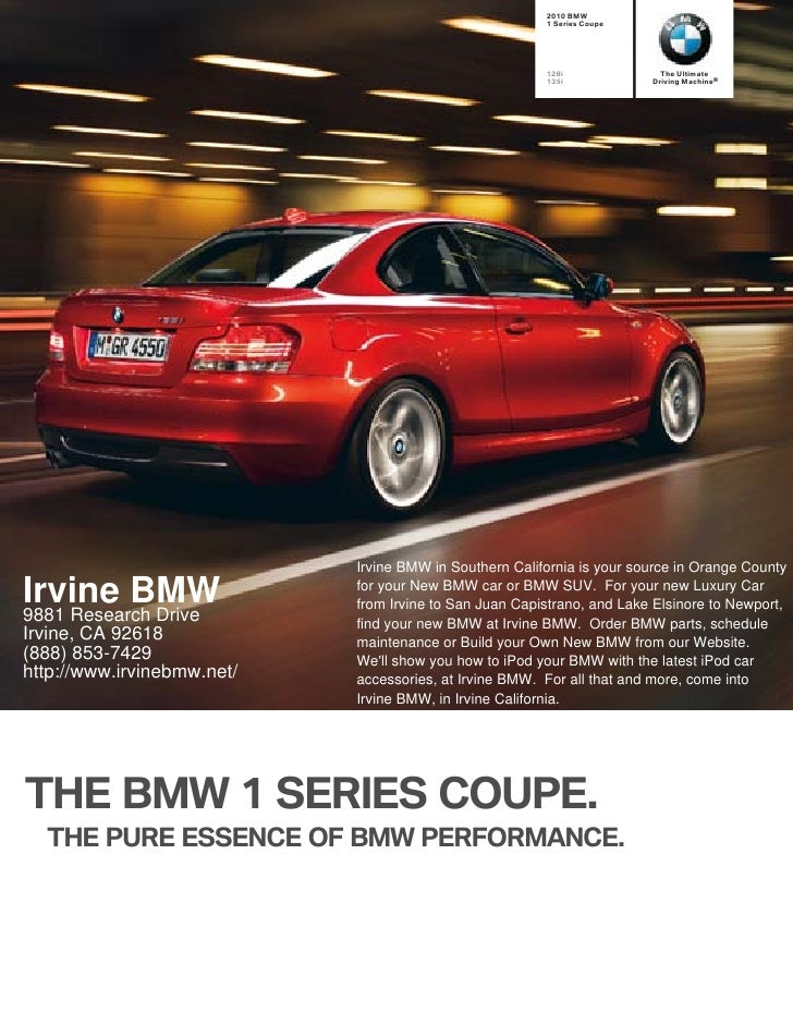2010 BMW                                                         1 Series Coupe                                           ...