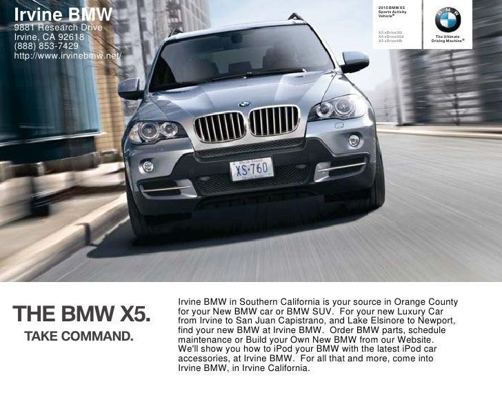 2010 BMW X5   Irvine BMW                                                                Sports Activity                   ...