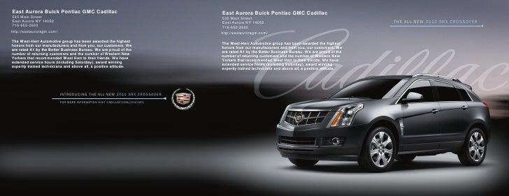 West Herr East Aurora >> 2010 Cadillac SRX Buffalo