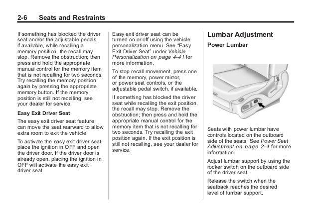 2014 cadillac srx 4 owners manual