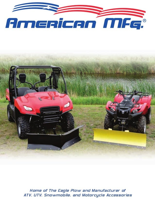 Atv utv snow plow tire chain catalog 2010 home of the eagle plow and manufacturer of atv utv snowmobile and motorcycle publicscrutiny Image collections