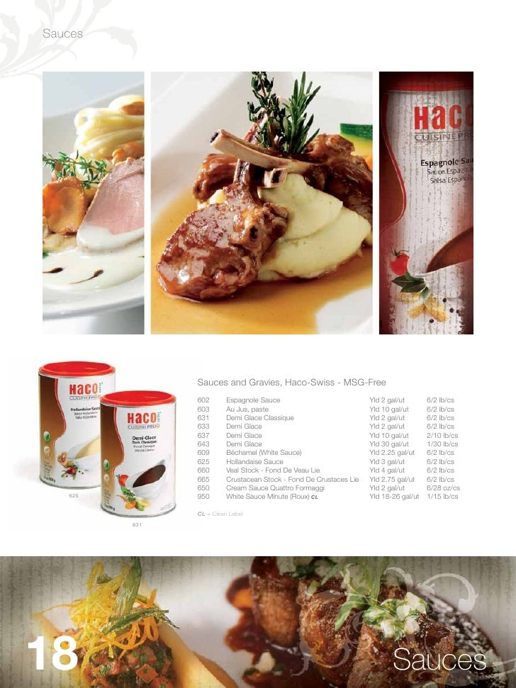 Swiss Chalet Fine Foods Menu