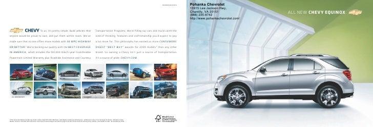 10CHEEQUCAT01A   Pohanka Chevrolet                                                                                        ...