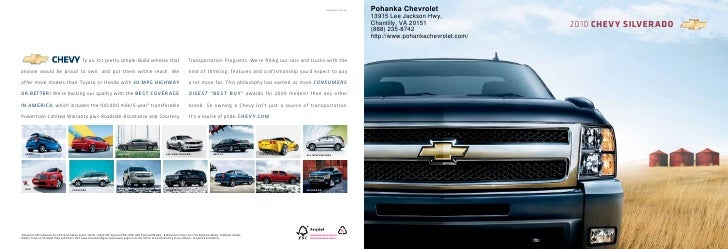 10CHESILCAT01       Pohanka Chevrolet                                                                                     ...