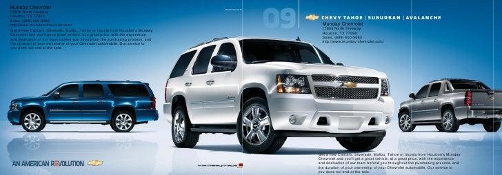 Munday Chevrolet 09CHESUVCAT01 ...