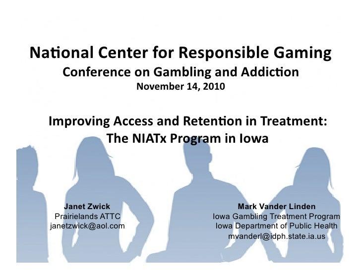 2010 Conference - NIATx Program in Iowa (Zwick and Vander Linden)