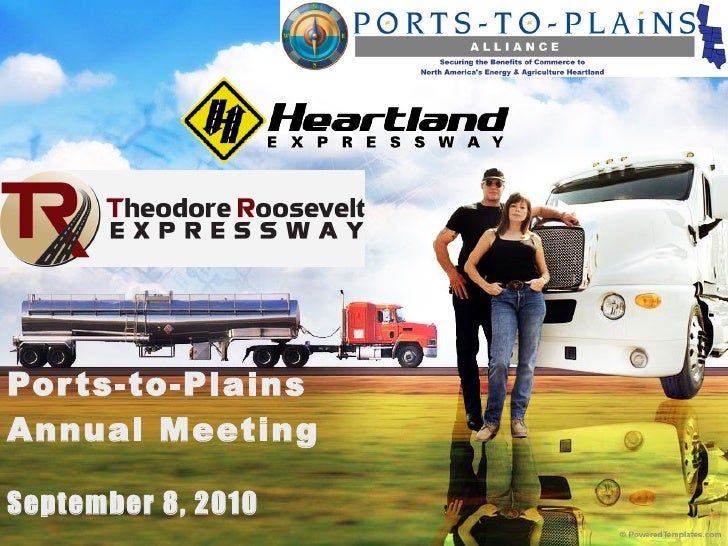 Ports-to-Plains Annual Meeting September 8, 2010
