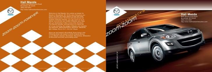 Hall Mazda            19809 West Bluemound Road            Brookfield, WI 53045            (866) 633-2901            http:...