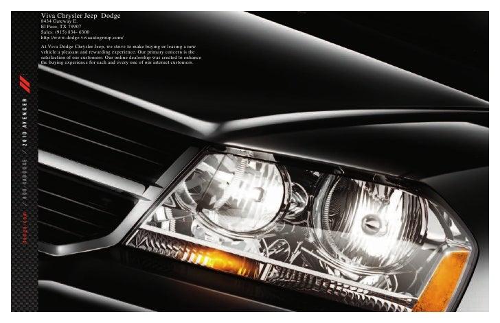 Viva Chrysler Jeep Dodge                                                  8434 Gateway E.                                 ...