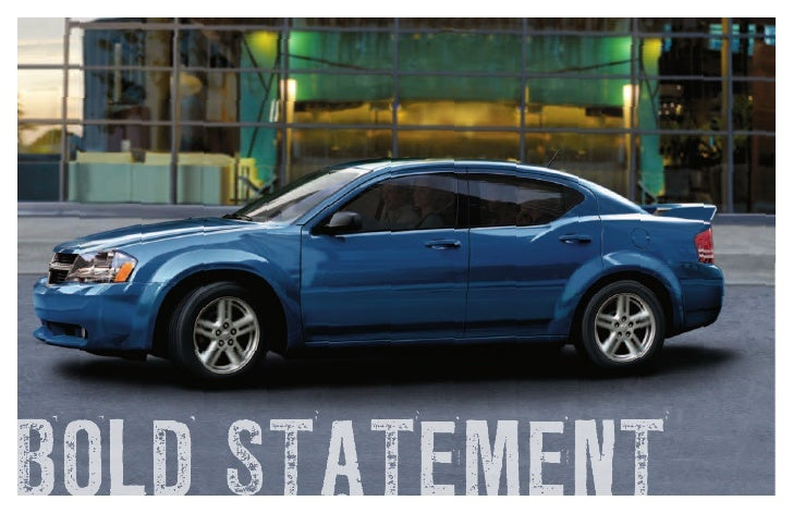 2010 dodge avenger cole chrysler dodge jeep marshall mi rh slideshare net 2010 Dodge Avenger Interior 2010 Dodge Avenger RT Motor