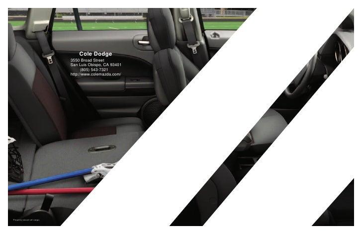 Cole Dodge                              3550 Broad Street                              San Luis Obispo, CA 93401          ...