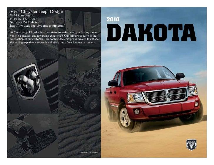2010 dodge dakota in el paso tx rh slideshare net