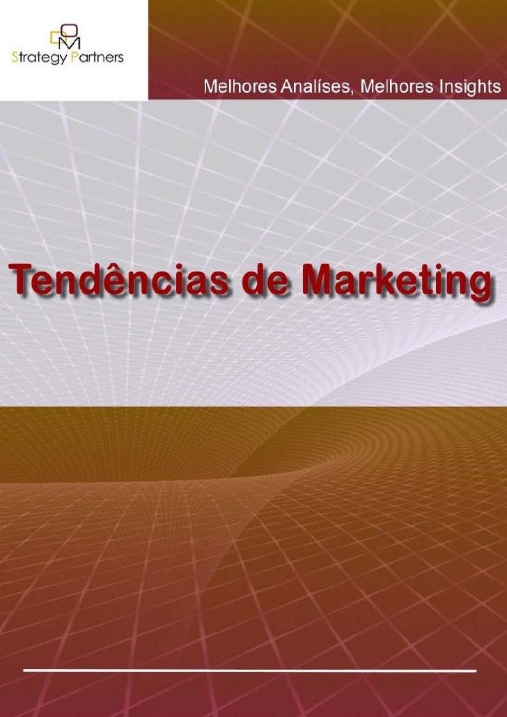 Tendências de Marketing - 1