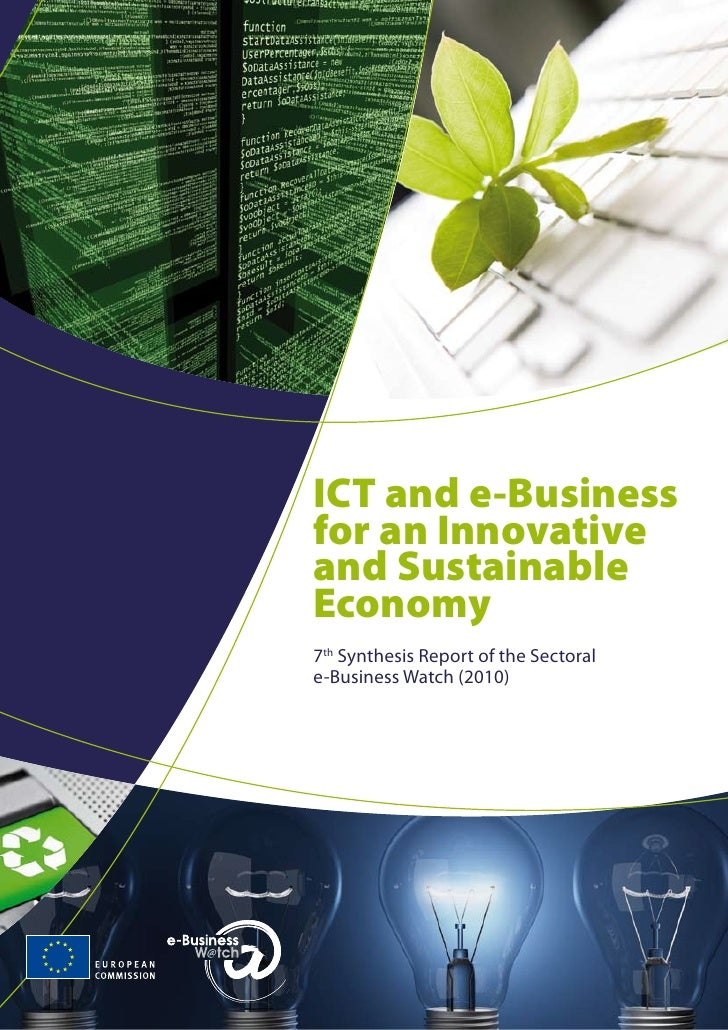2010 Ebw Ict And E Business For An Innovative And Sustainable Economy