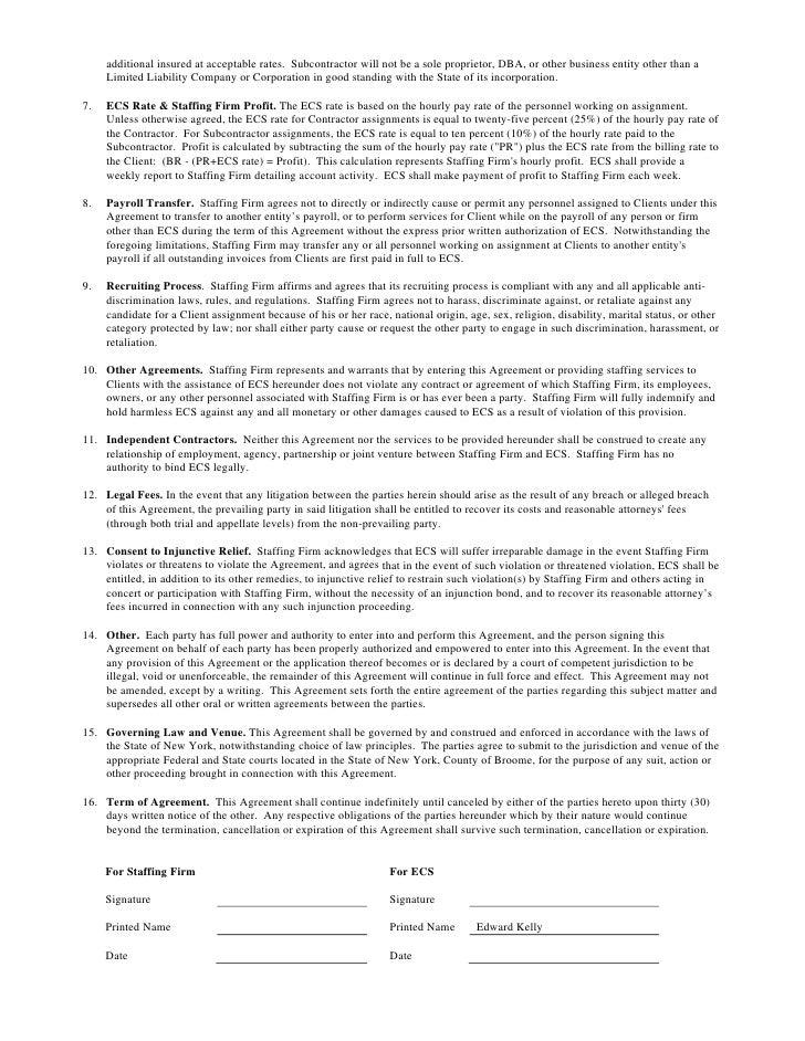 ecs contract staffing brochure ecs contract staffing brochure dunning letter from aramark news virginislandsdailynews