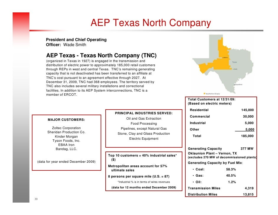 Amazing AEP Texas North Company ... Great Pictures