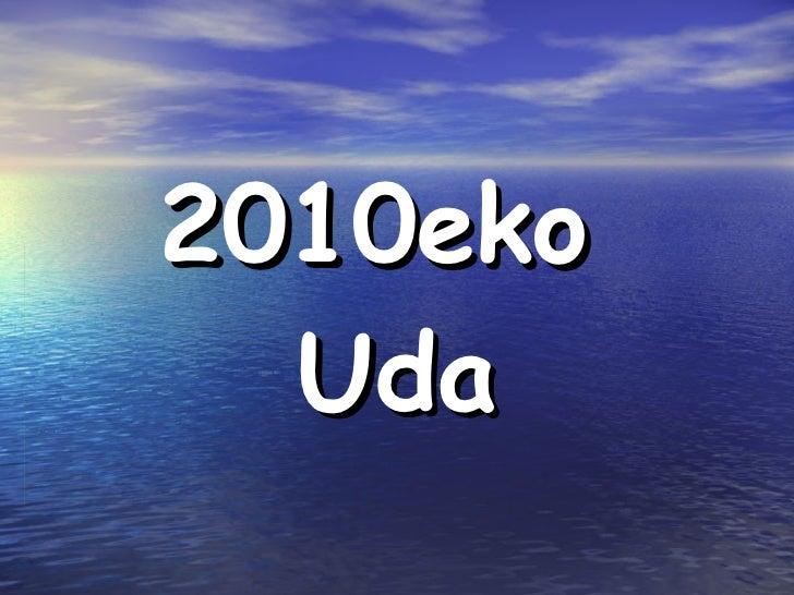 2010eko  Uda