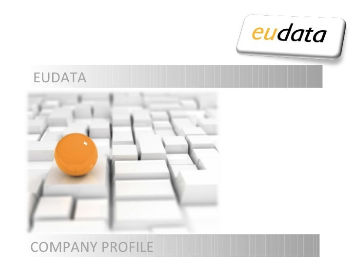 COMPANY PROFILE EUDATA
