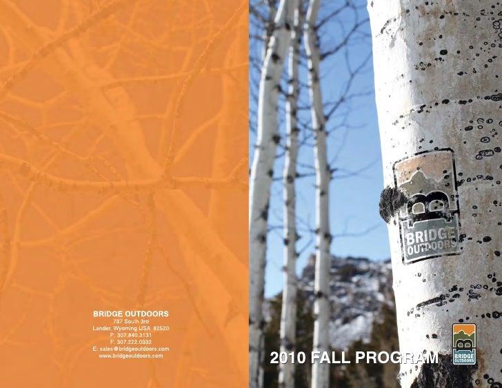 Bridge Outdoors Fall 2010