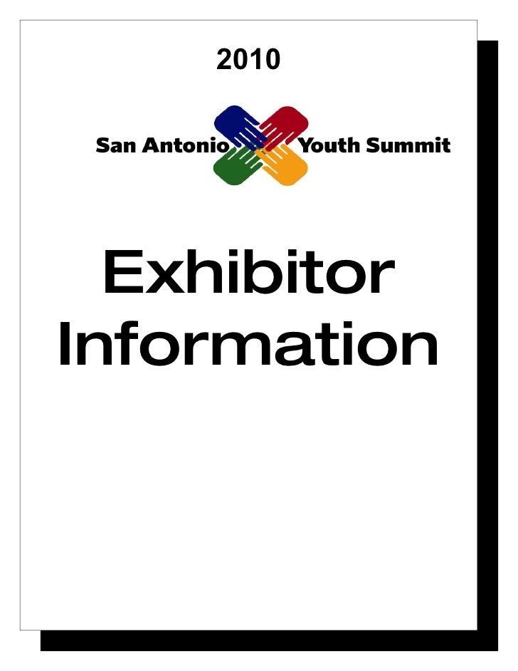 2010       Exhibitor Information