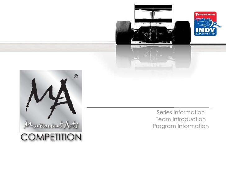 Series Information Team Introduction Program Information