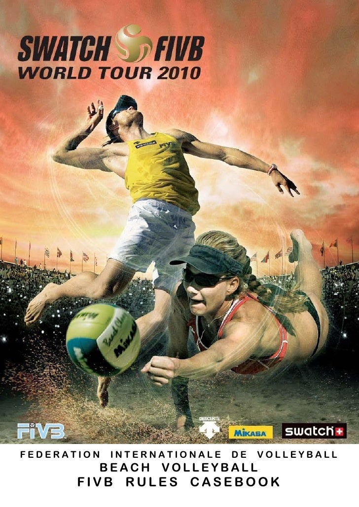 FEDERATION   INTERNATIONALE   DE   VOLLEYBALL         BEACH VOLLEYBALL       FIVB RULES CASEBOOK
