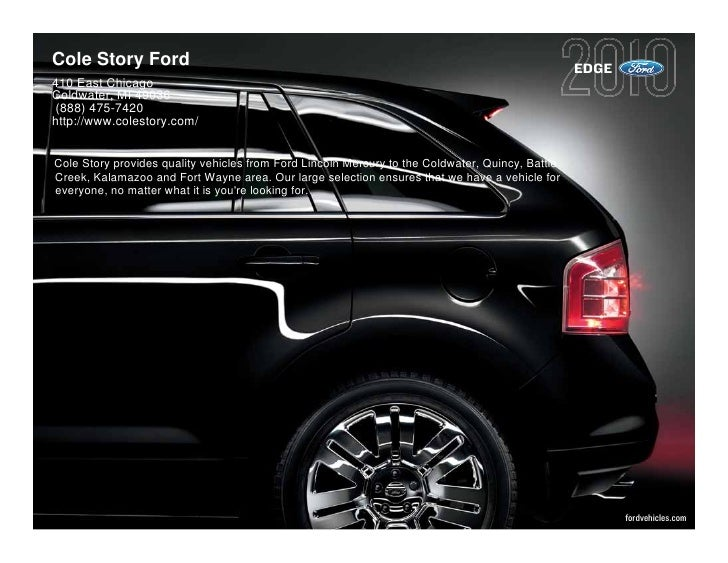 Cole Story Ford                                                                                   EDGE 410 East Chicago Co...