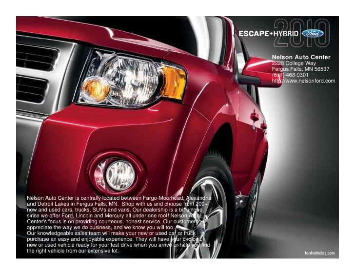 ESCAPE+HYBRID                                                                                          Nelson Auto Center ...