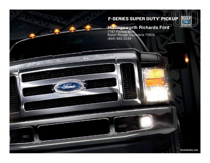 series super duty pickuphollingsworth richards ford7787 florida. Cars Review. Best American Auto & Cars Review