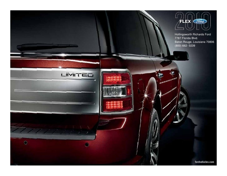 2010 ford flex baton rouge. Black Bedroom Furniture Sets. Home Design Ideas