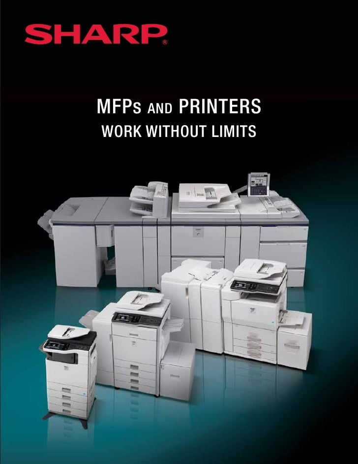 MFPs AND PRINTERS WORK WITHOUT LIMITS