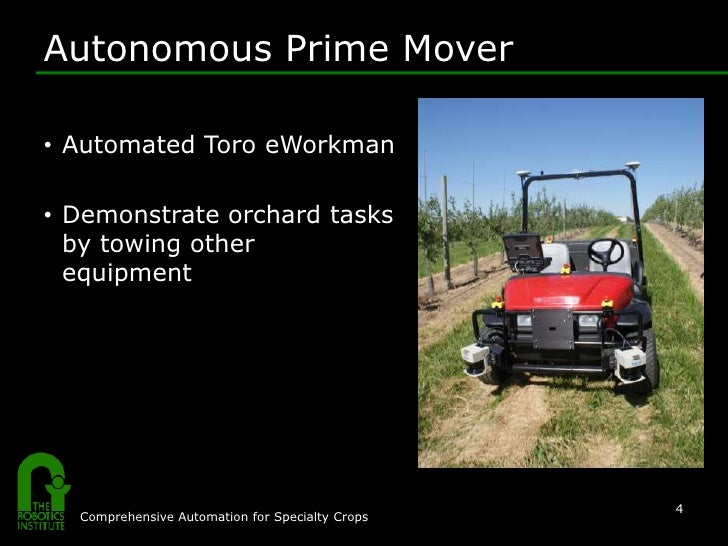 Long Distance Towing >> Improving Orchard Efficiency with Autonomous Utility Vehicles