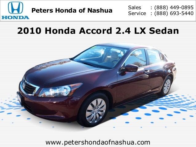 Good Sales : (888) 449 0895 Peters Honda Of Nashua Service : (888 ...