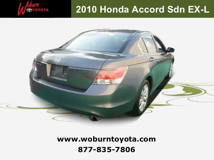 Boston Used 2010 Honda Accord Sdn Ex L