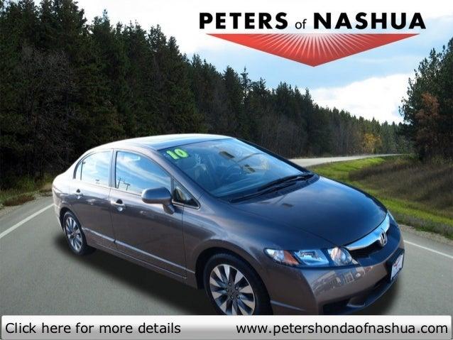 Click Here For More Details Www.petershondaofnashua.com ...