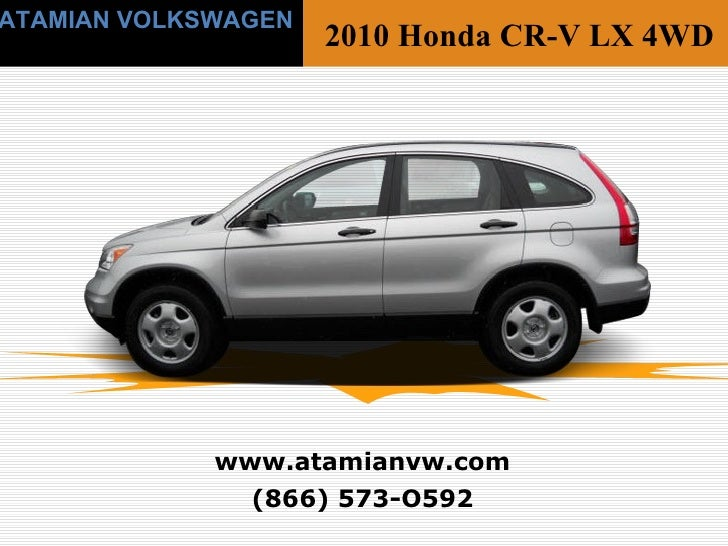 Used 2010 Honda Cr V Lx Cambridge Ma